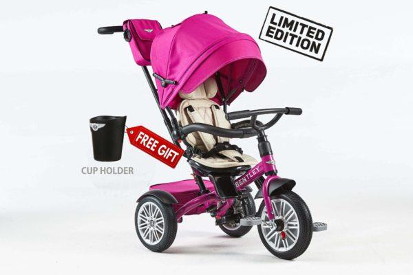 Bentley Trike Fuchsia Pink CUP HOLDER GIFT PINK