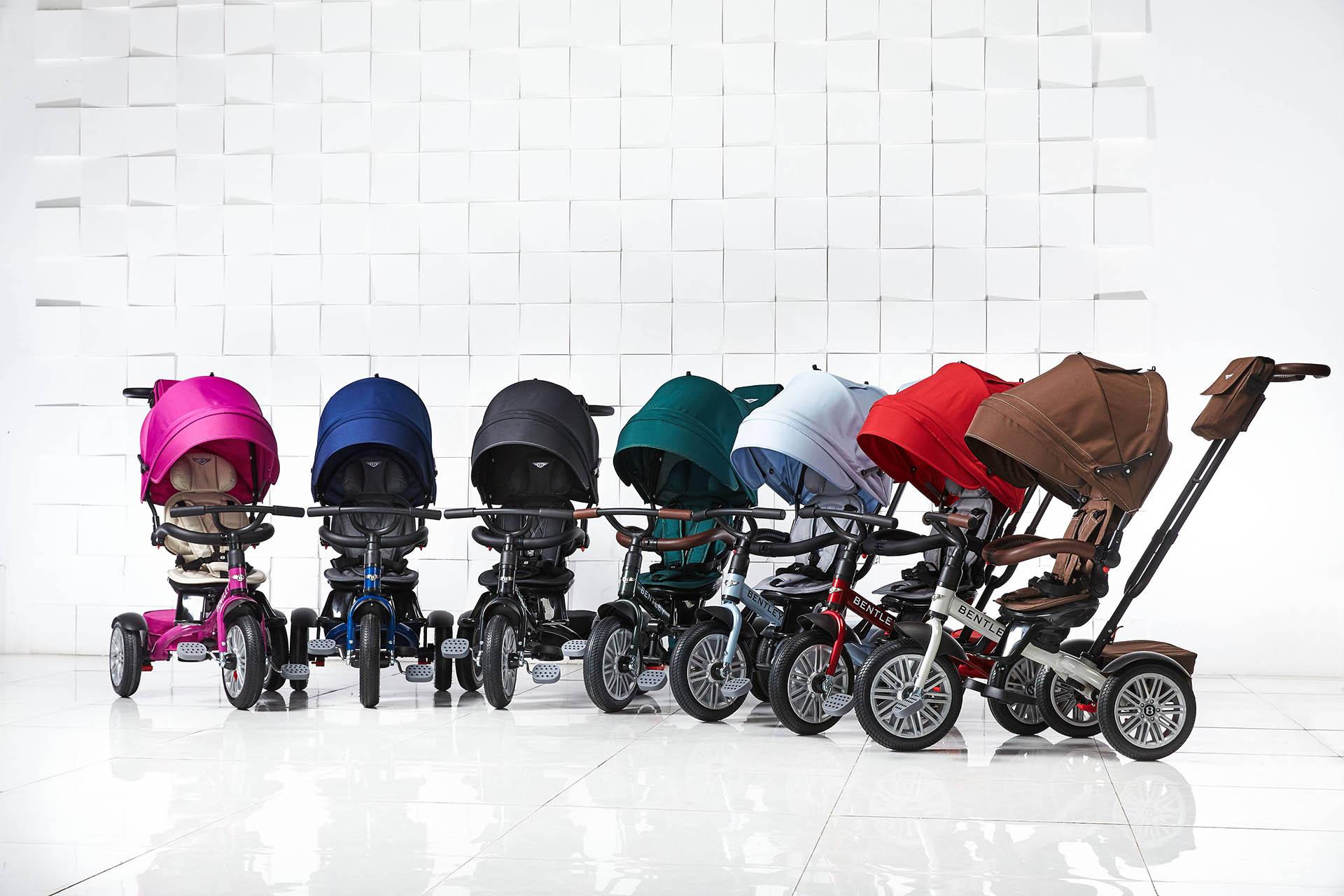 Bentley Trikes 6in1 Children Stroller Kids Tricycle Bike